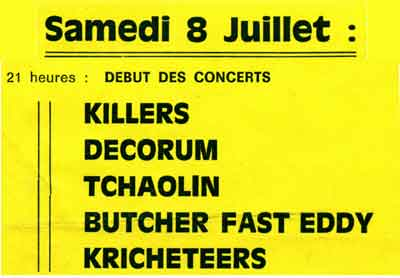 coulaures killers 1995
