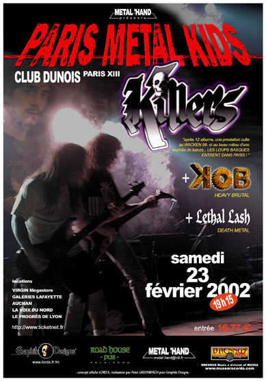 Dunois affiche killers